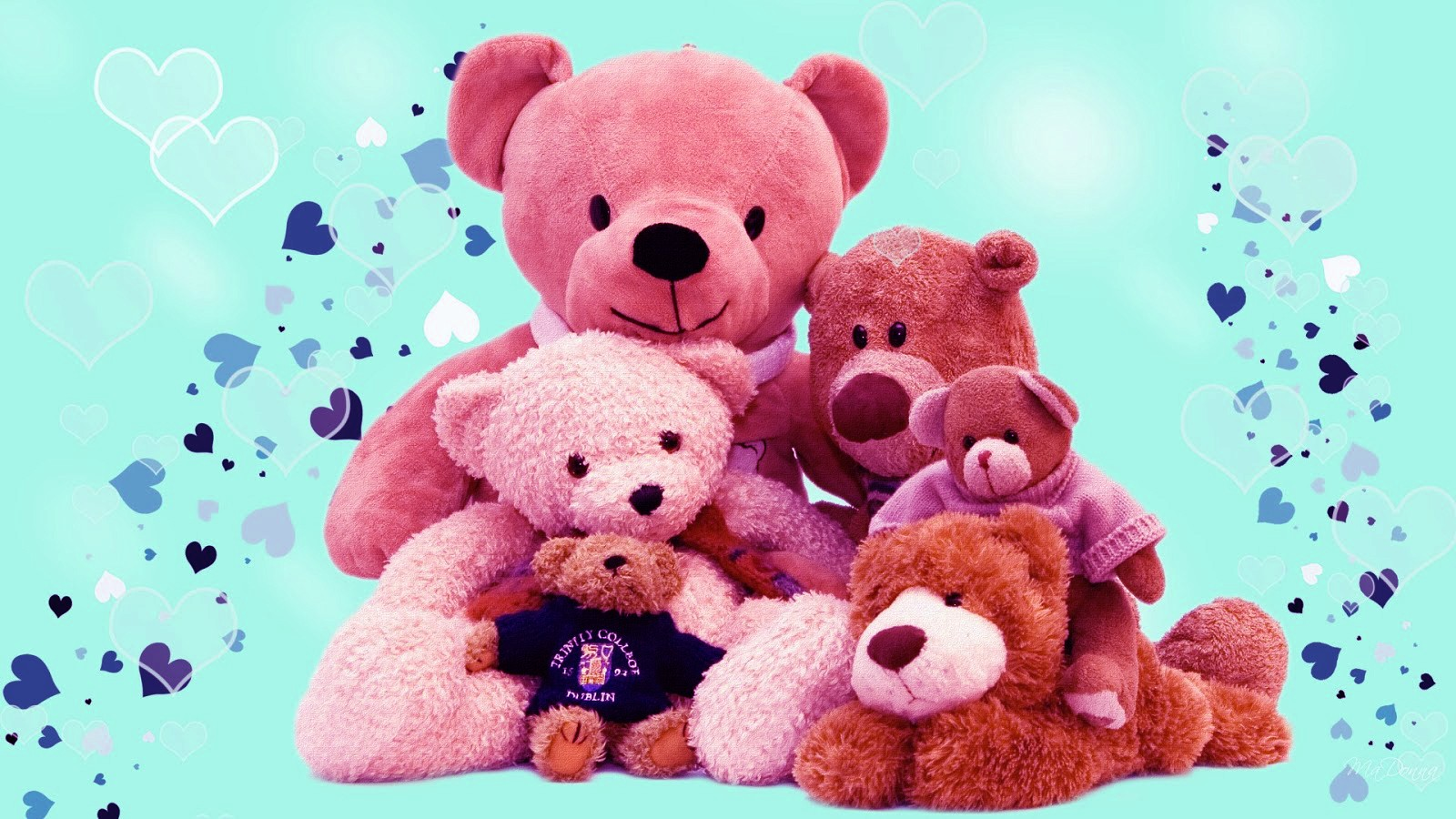 Full Size Cute Teddy Bears Hd Wallpapers Collection Of Teddy