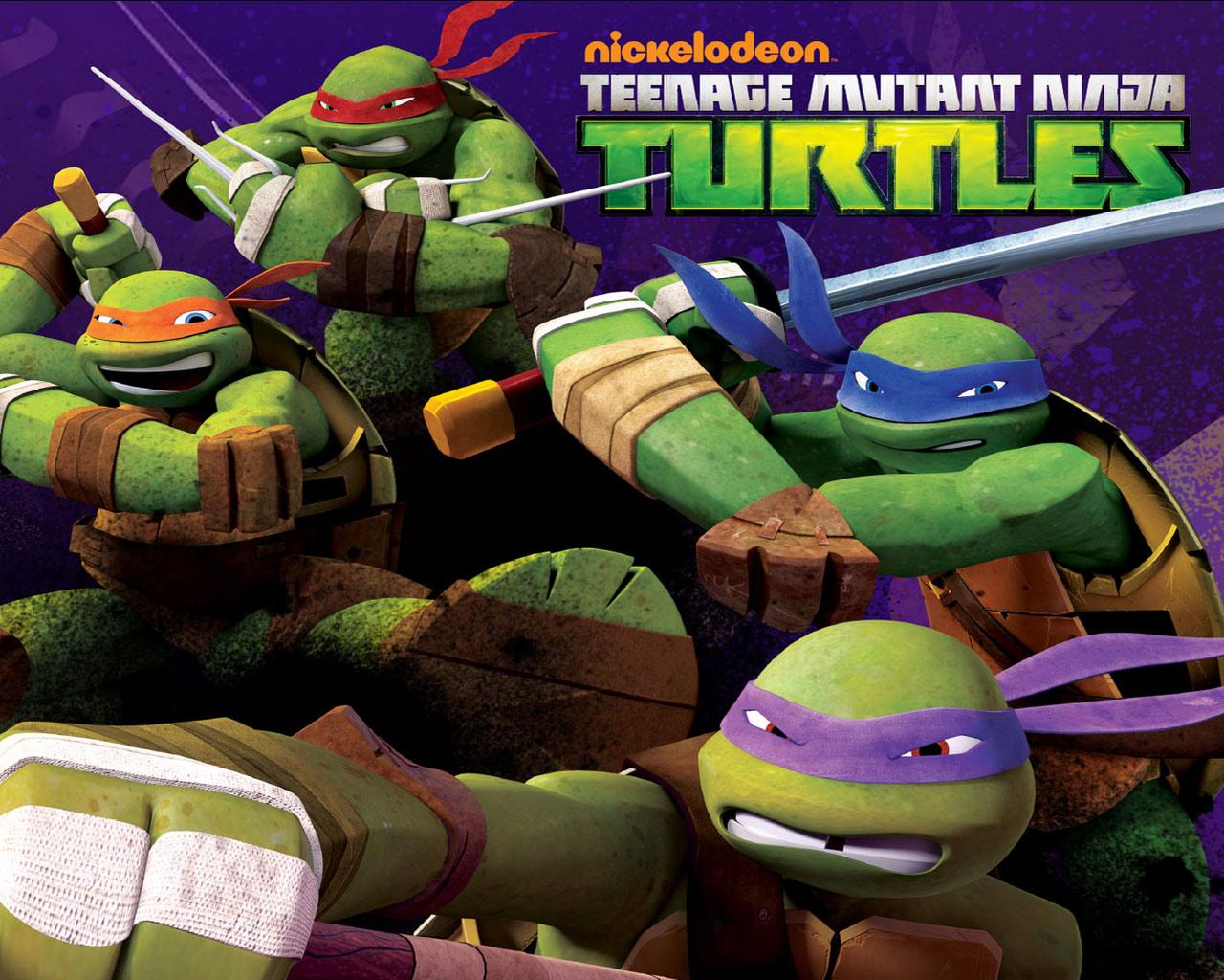 IPhone S Teenage Mutant Ninja Turtles Wallpapers HD Desktop 1280x1024