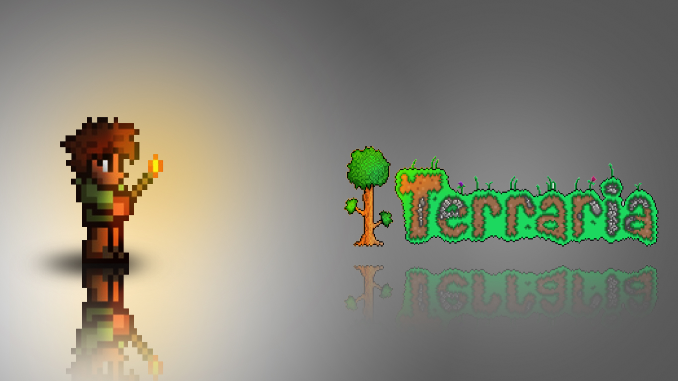 Other Art  Terraria Desktop Wallpapers  Terraria Community Forums 1366x768