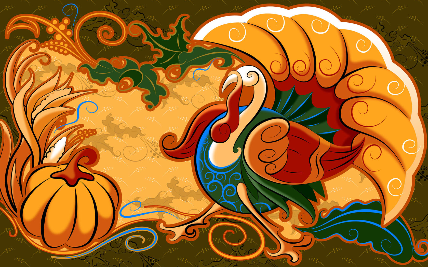 Free Thanksgiving Desktop iphone ipad Backgrounds  Thanksgiving 1680x1050