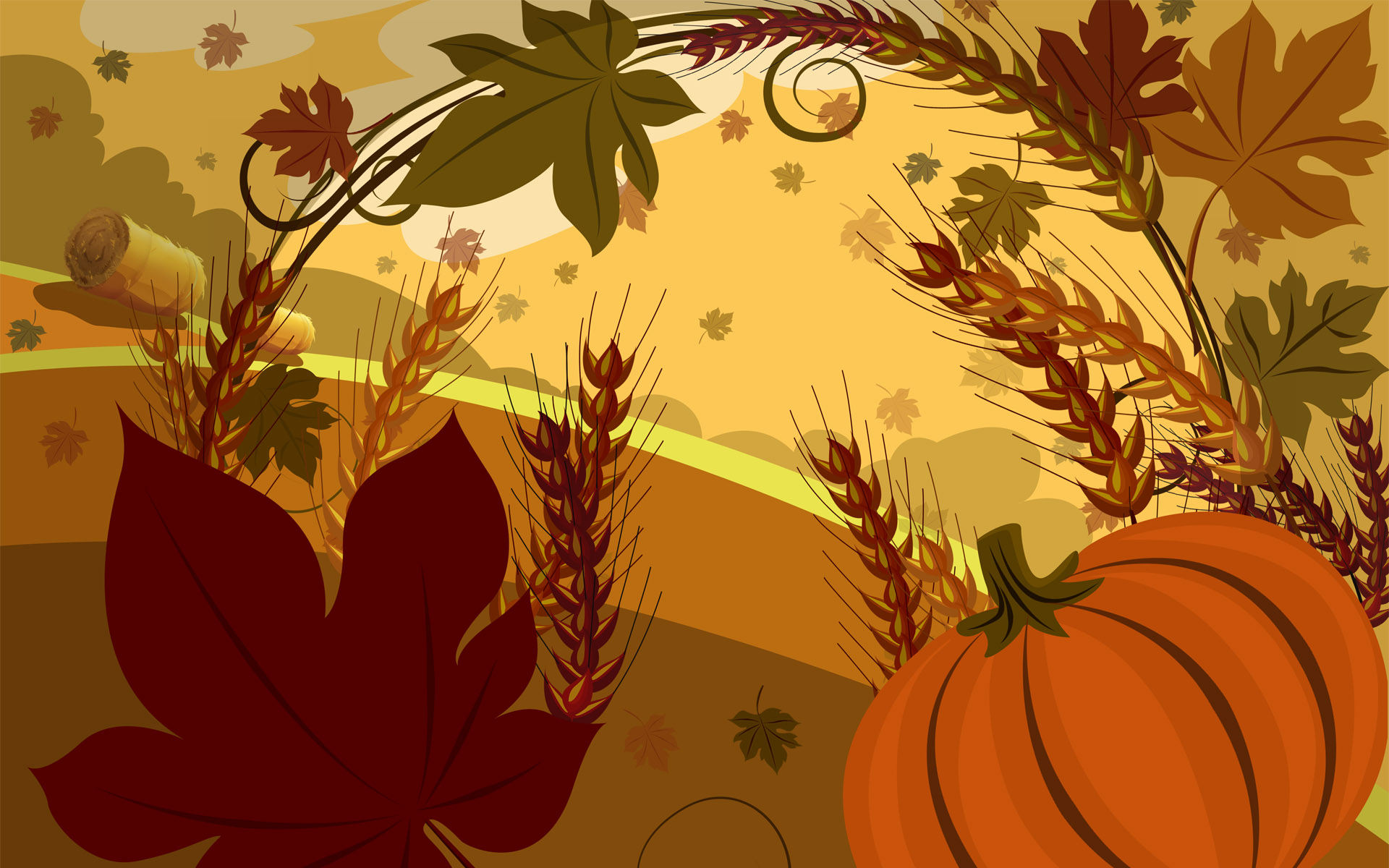 Thanksgiving Wallpapers:  Free Desktop Backgrounds 1920x1200
