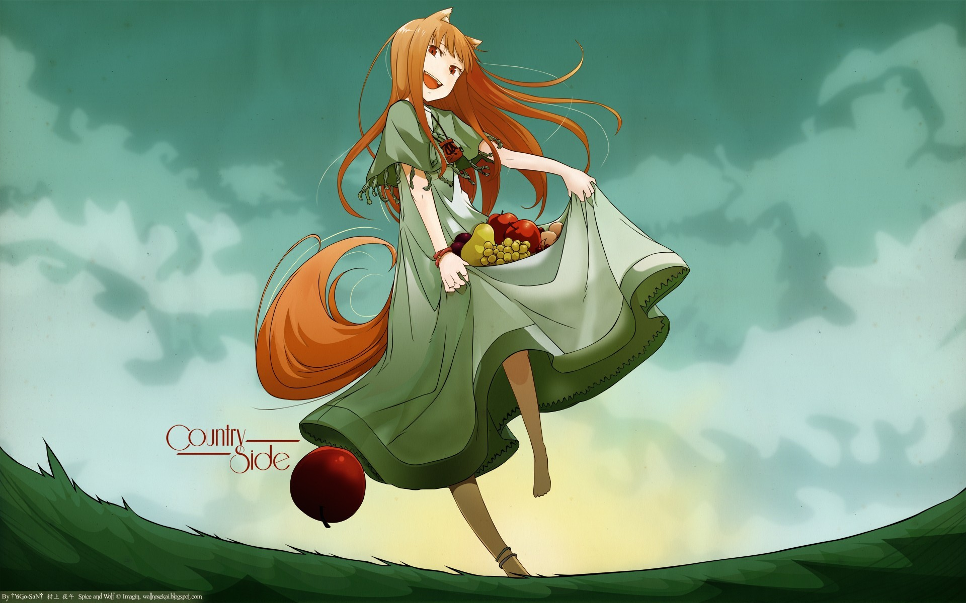 Spice and Wolf Holo The Wise Wolf anime girls ua