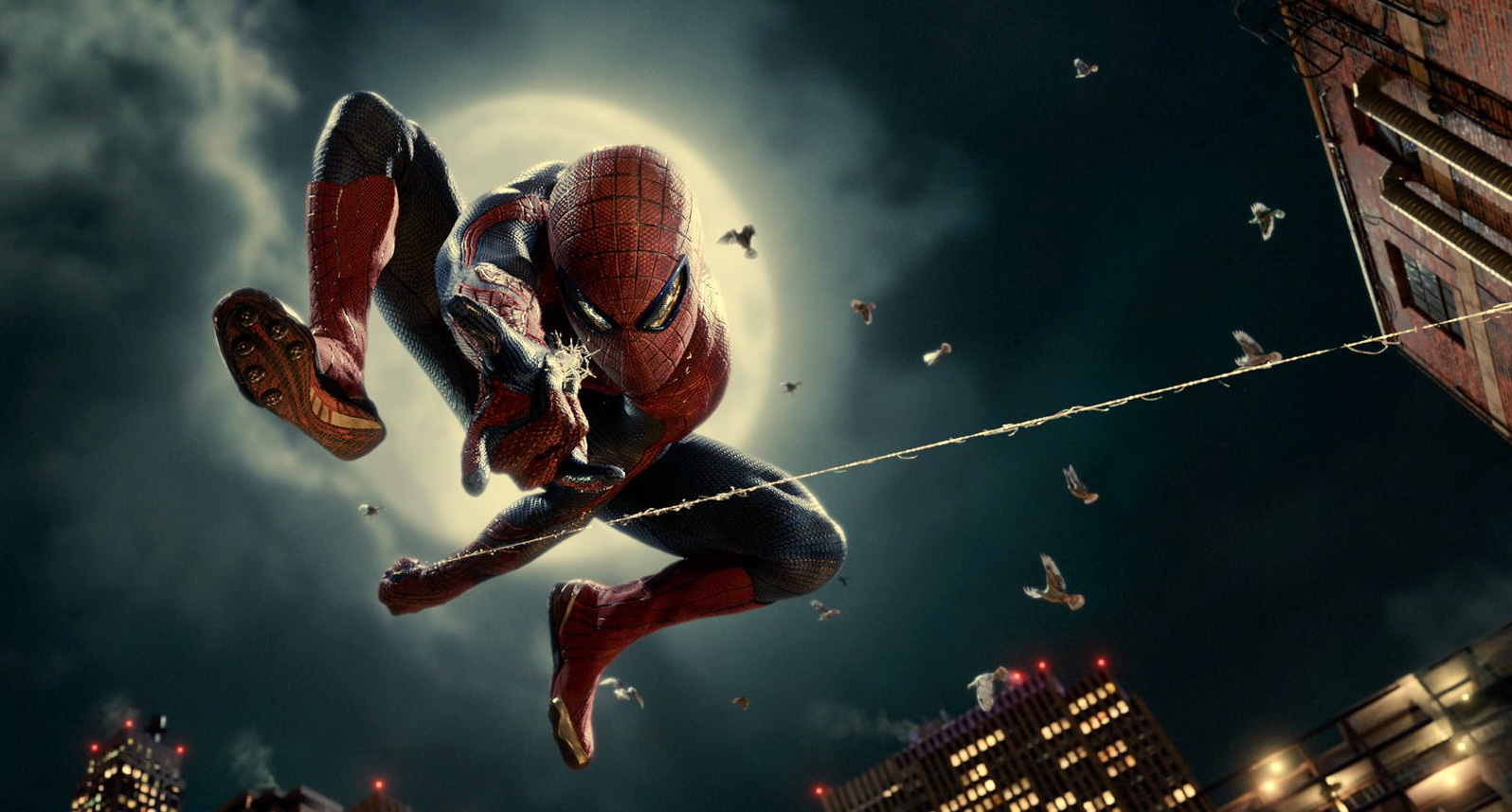 The Amazing SpiderMan Wallpapers Movie HD 1596x857