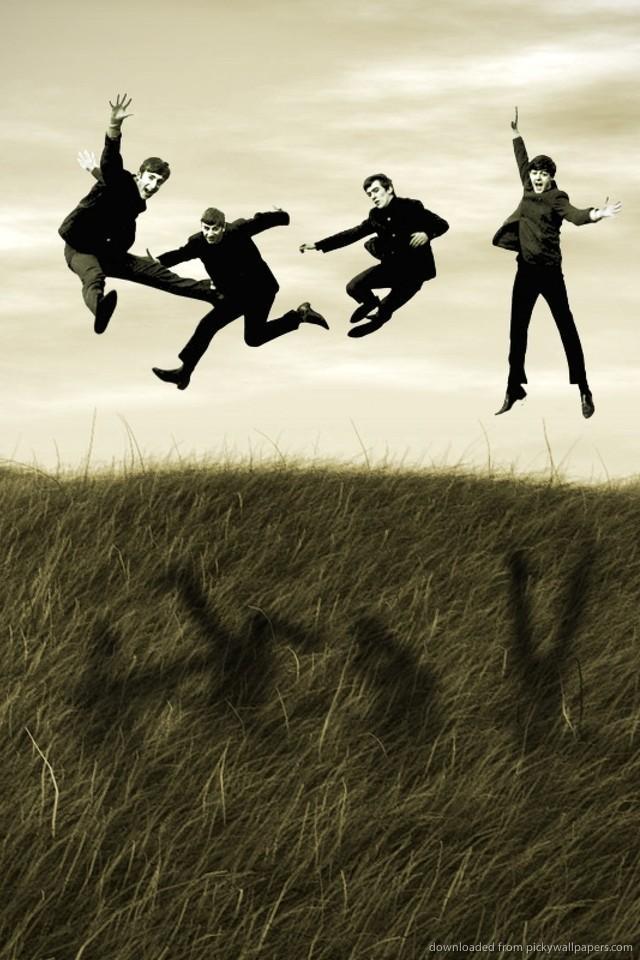 High Resolution The Beatles Art Desktop Wallpaper P 640x960