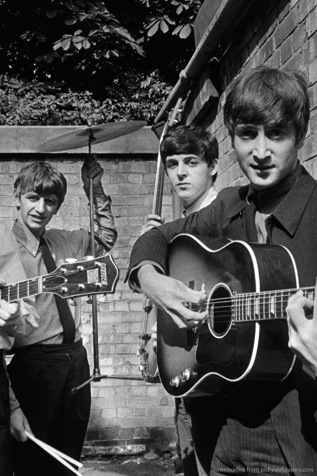 The Beatles  |Beatles Iphone Wallpaper