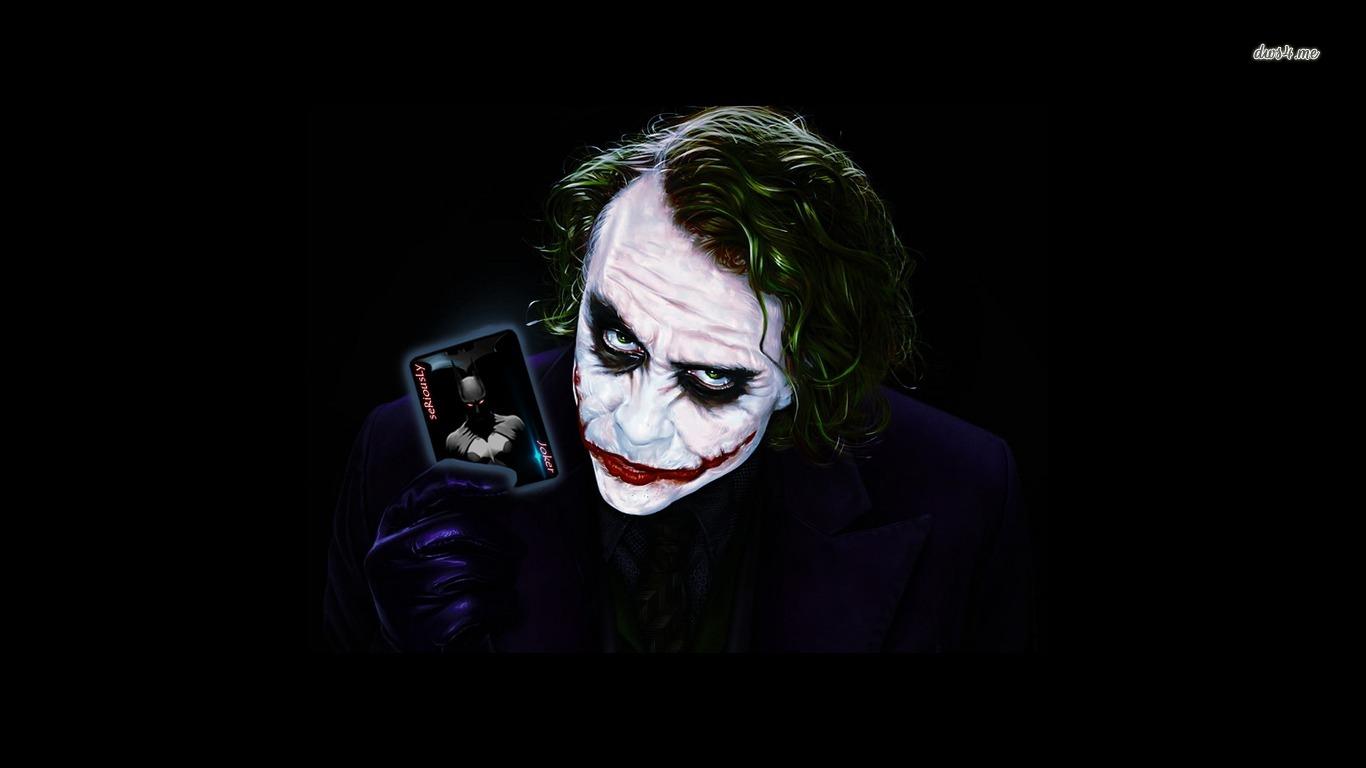 batman the joker batman the dark knight hd wallpaper 1366x768
