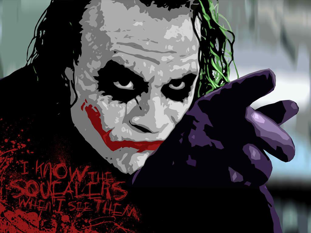 The Dark Knight Joker Wallpapers Wallpaper 1024x768