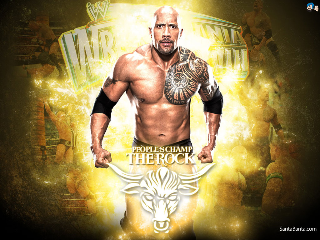 THE ROCK The Rock Wallpapers All About Wrestling 1024x768