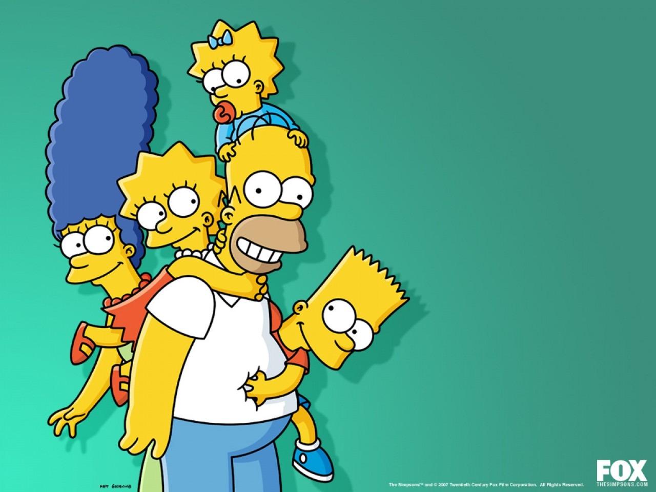The Simpsons HD Wallpapers 1280x960