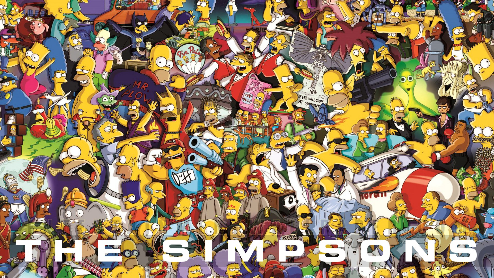 simpsons wallpapers  WallpaperUP 1920x1080