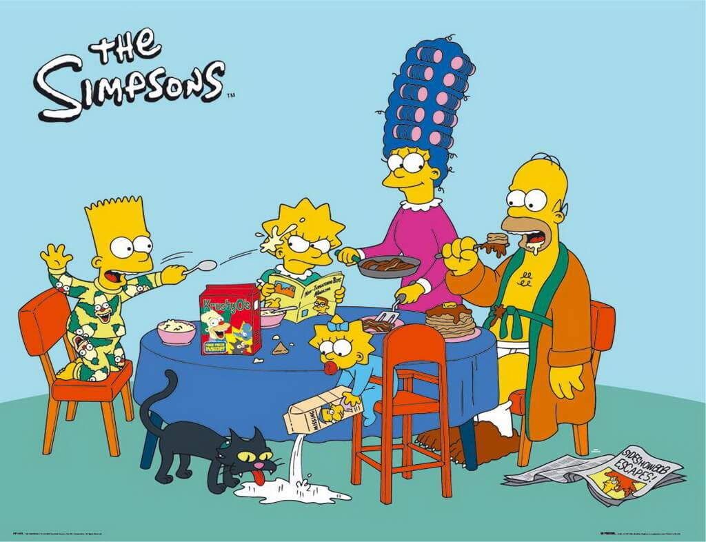 the simpsons wallpapers  Desktop Backgrounds for Free HD 1024x786