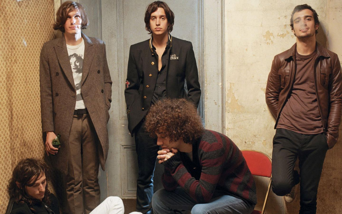wallpaper  The Strokes Fans 1440x900