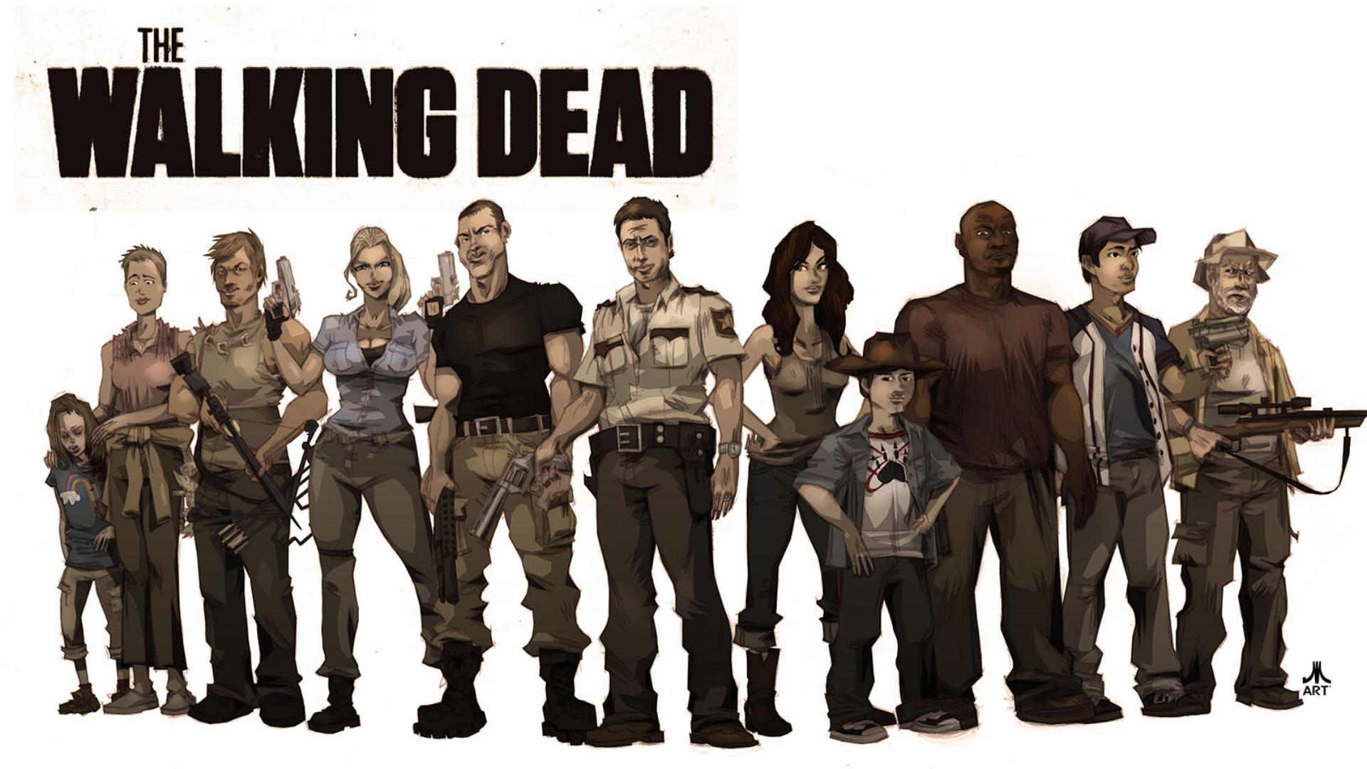 Wallpapers Of The Week Walking Dead 1920x1080
