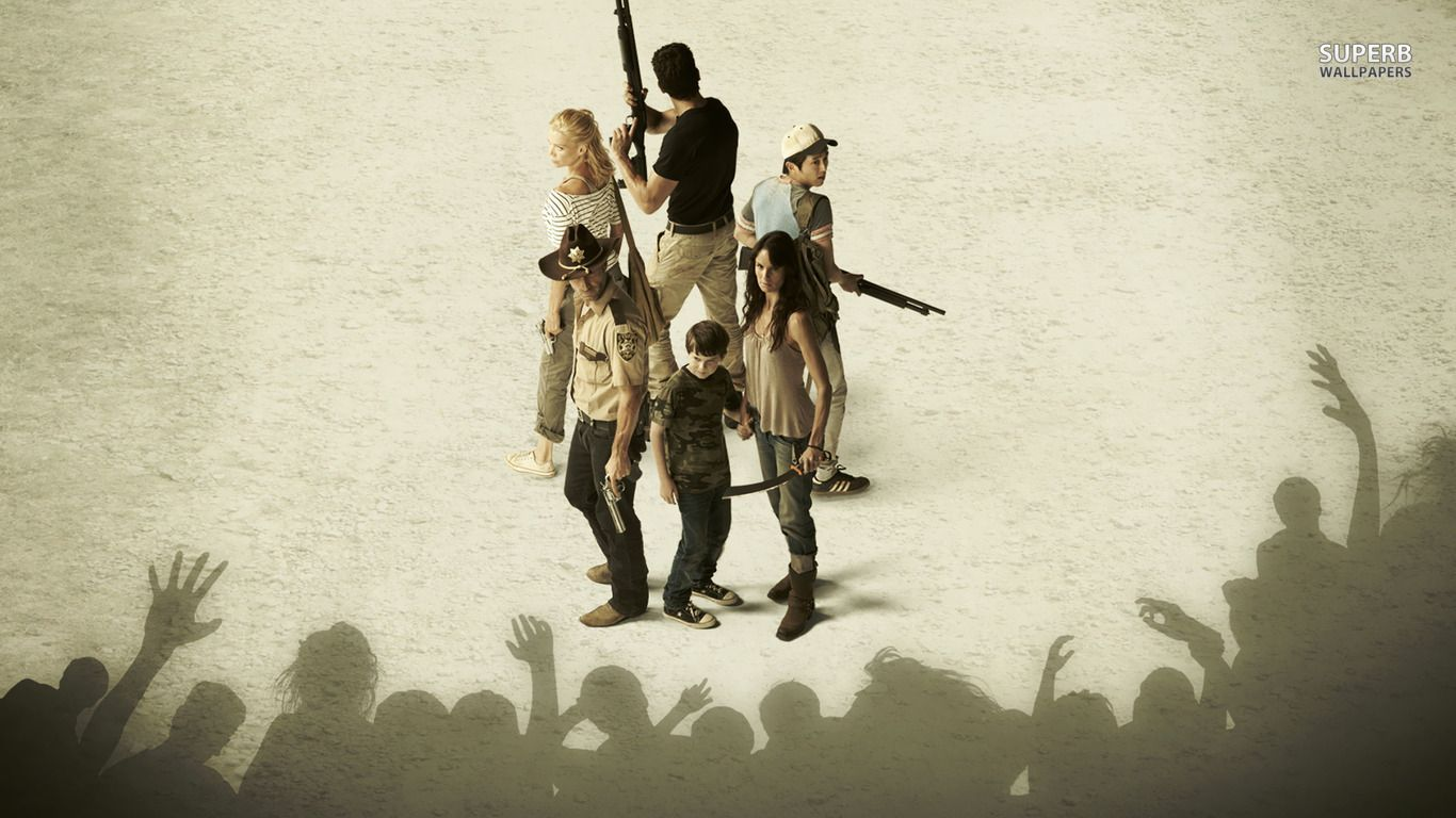 the walking dead iphone wallpapers 1366x768