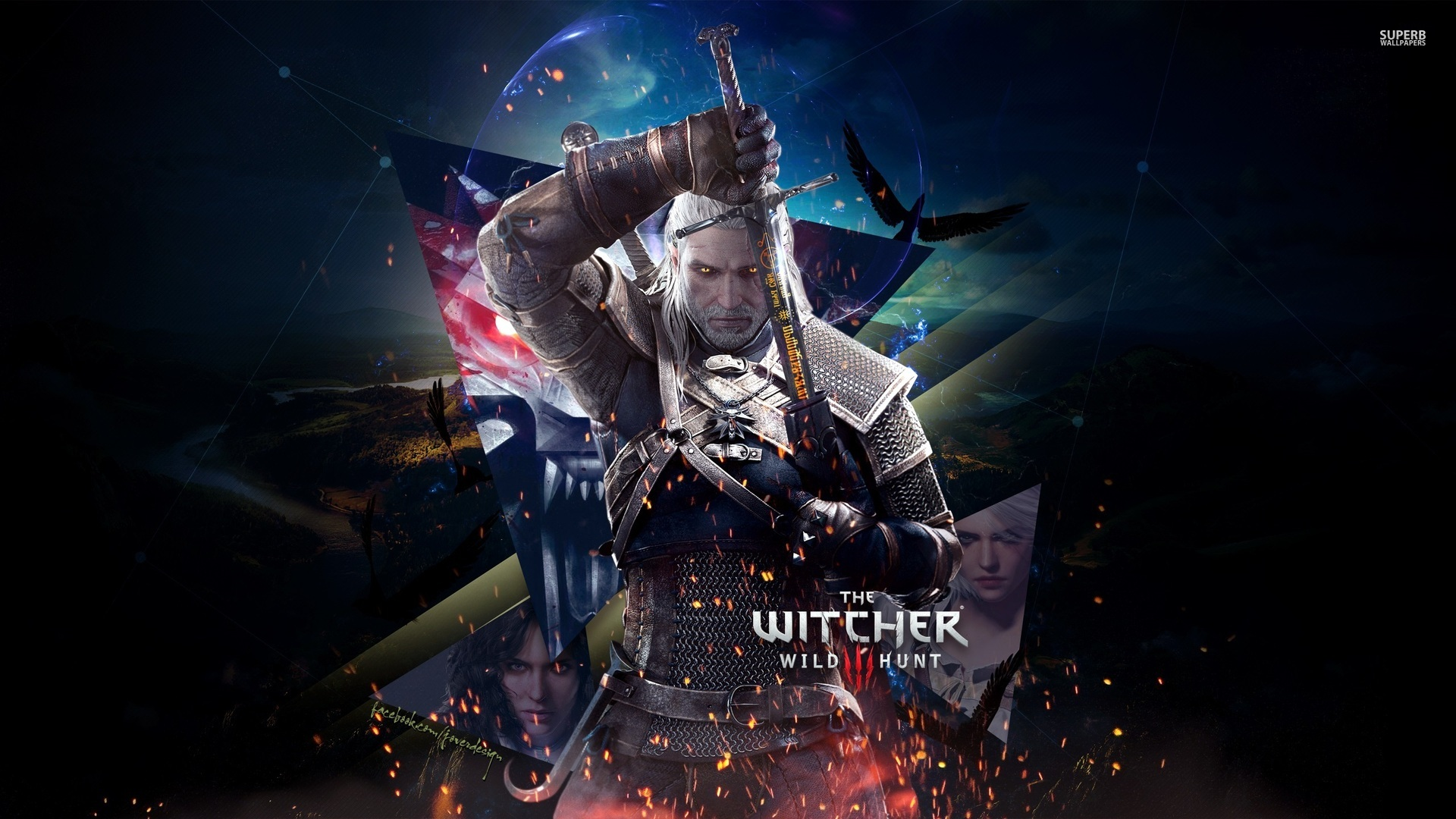 The Witcher : Wild Hunt HD Wallpapers  Backgrounds 1920x1080