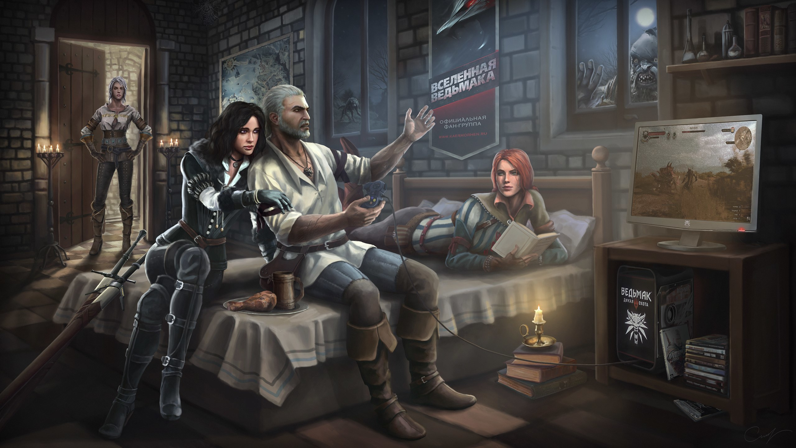 Download Exclusive The Witcher : Wild Hunt Wallpapers  GeForce 2560x1440