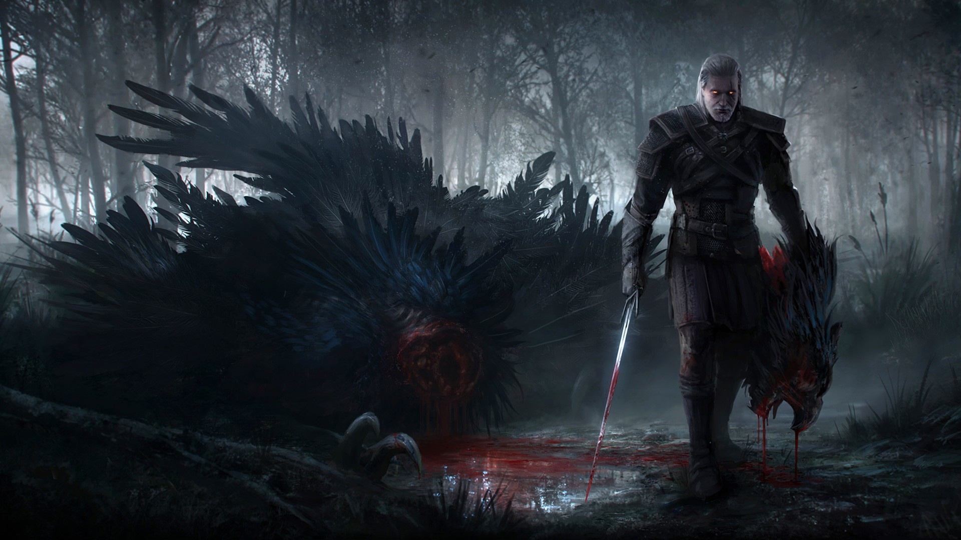 The Witcher : Wild Hunt Wallpapers  HD Wallpapers 1920x1080