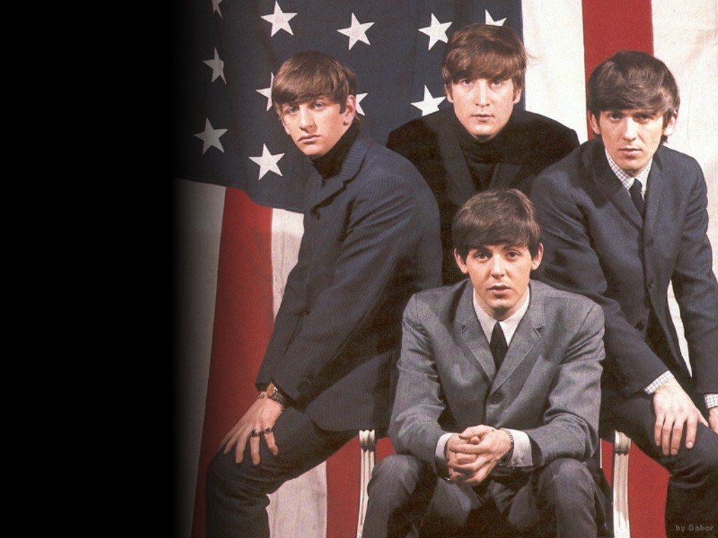 Download Beatles iPhone wallpaper 1024x768