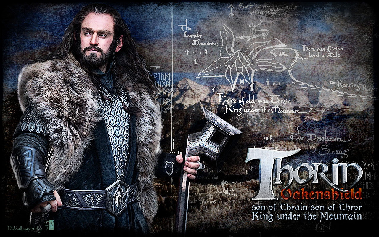 The Hobbit: An Unexpected Journey, Movies, Thorin Oakenshield 1280x800