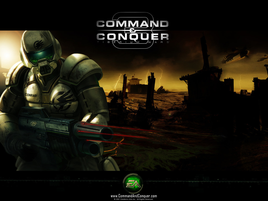 Ajay Wallpapers,Command  Conquer : Tiberium Wars Wallpapers 1024x768