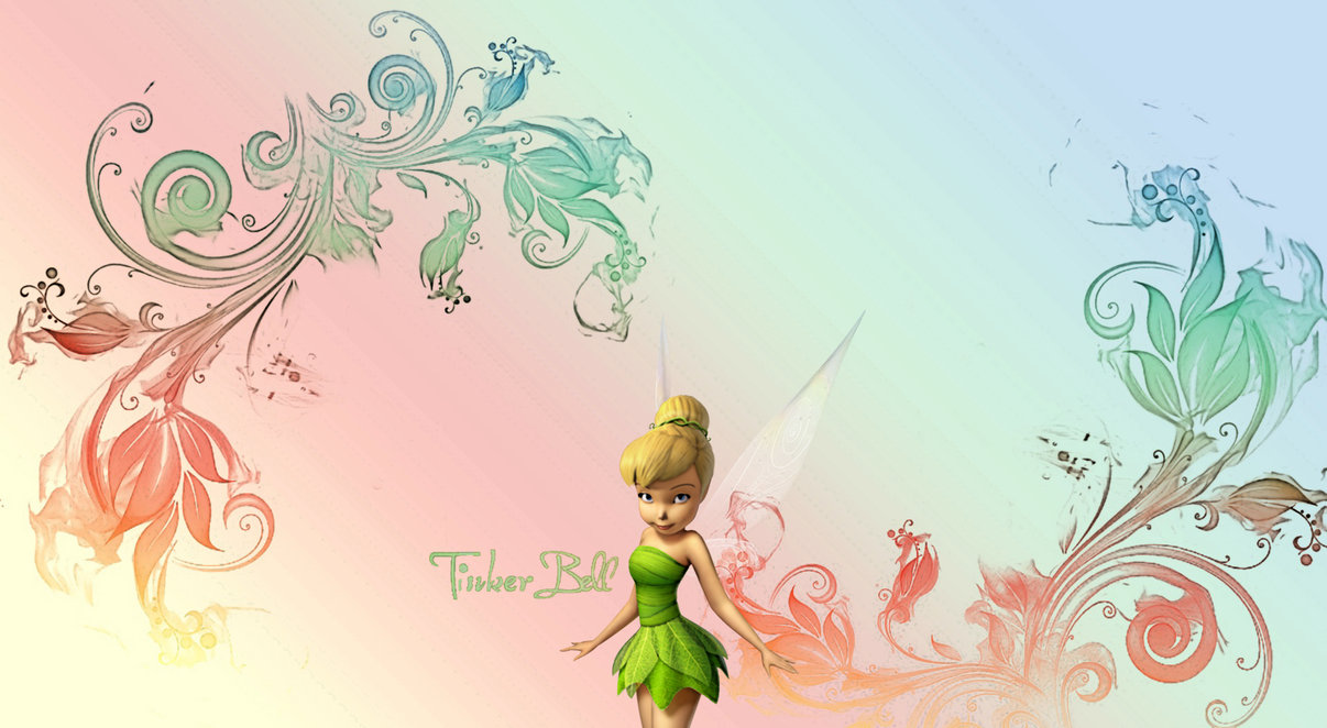 Collection of Tinkerbell Wallpaper on Spyder Wallpapers 1206x662