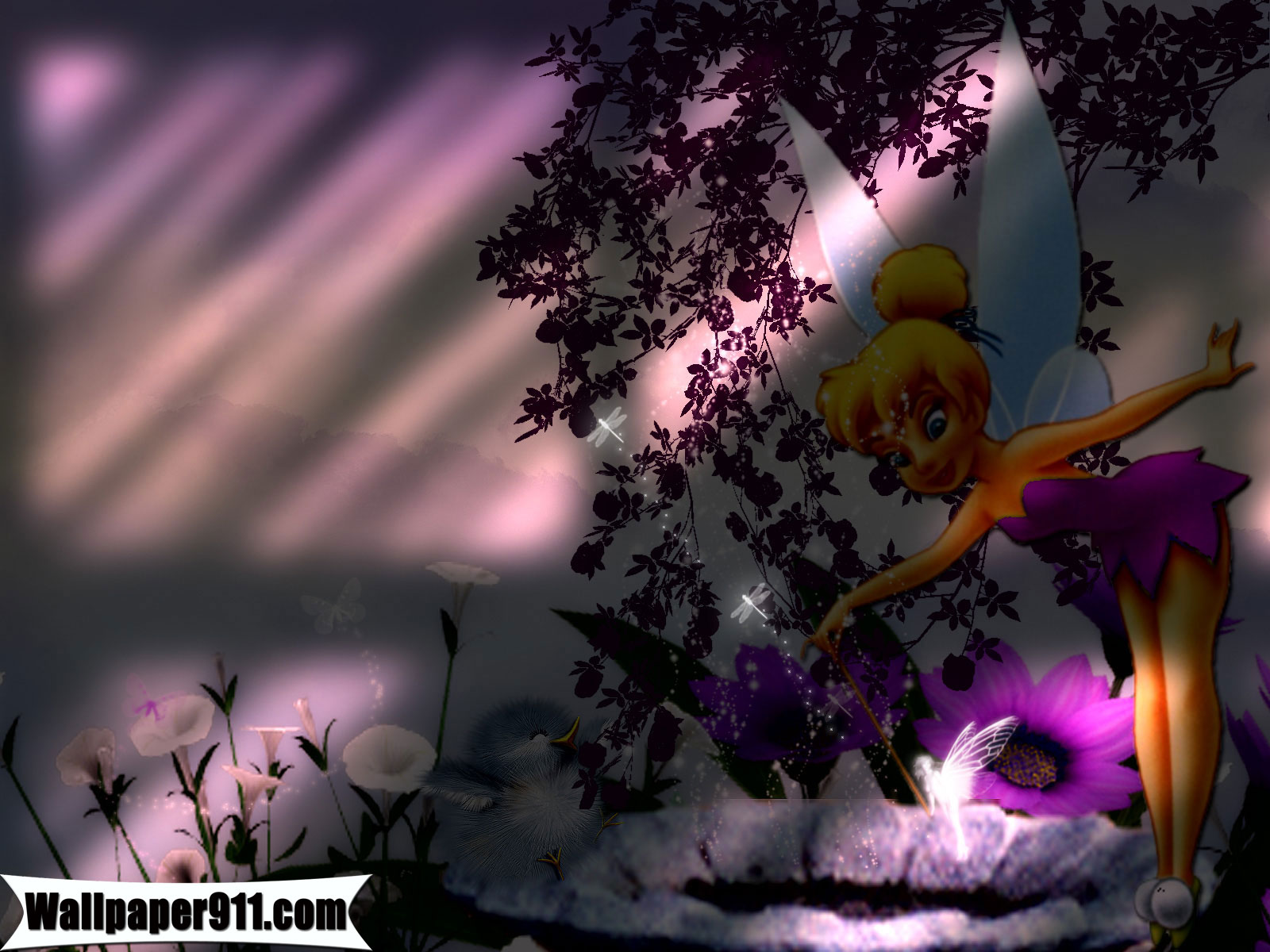 Cartoons Wallpaper: Tinkerbell And Friends Wallpapers Wide with HD 1600x1200