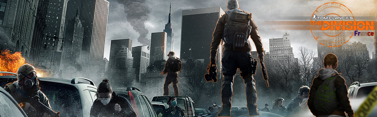 Community Intelligence Tom Clancys The Division Wallpaper HD 1600x500