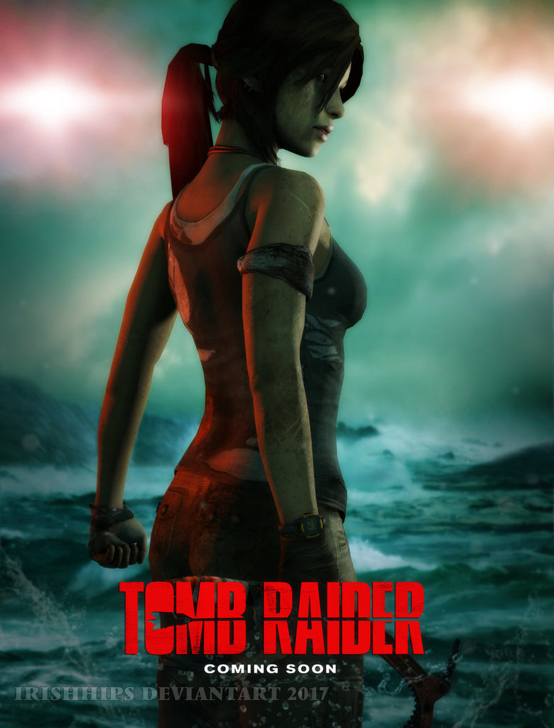 Tomb Raider Film Poster by Irishhips on