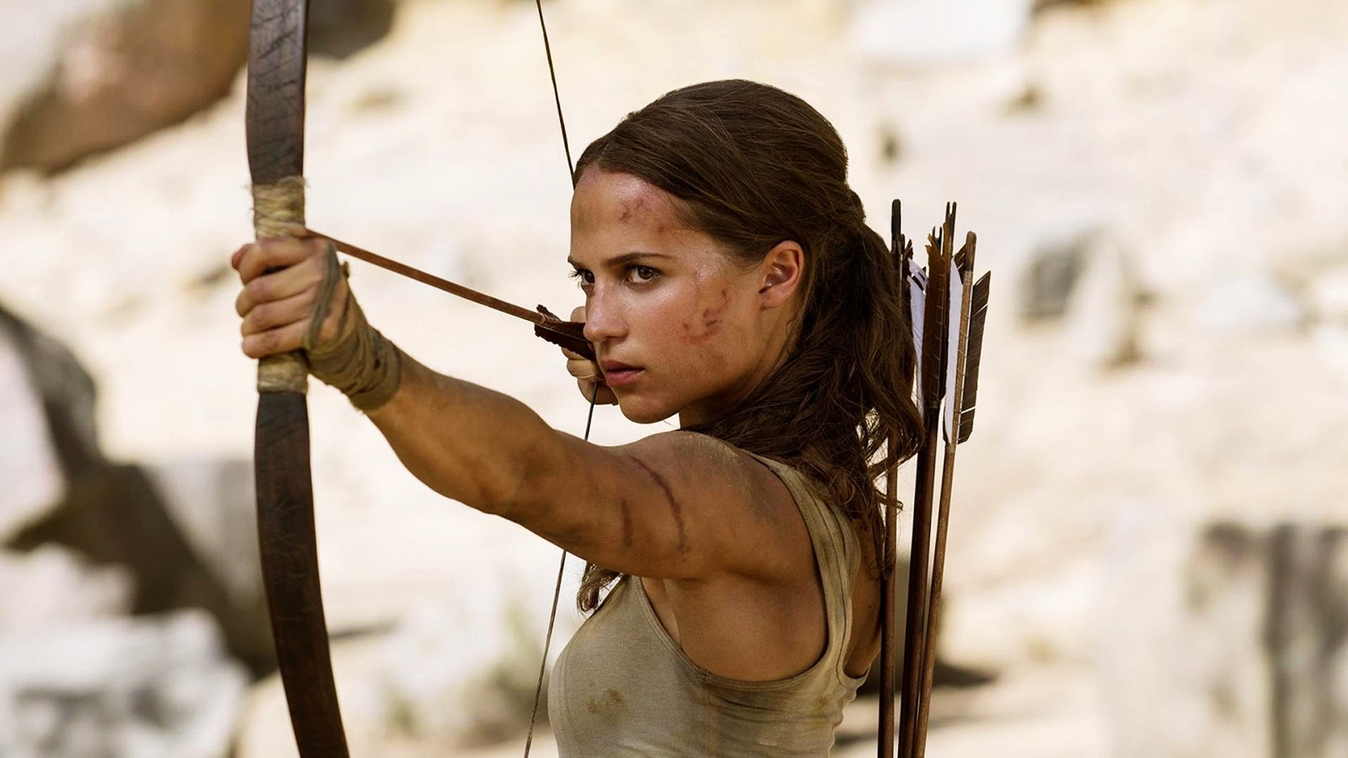 Tomb Raider Movie Wallpaper HD