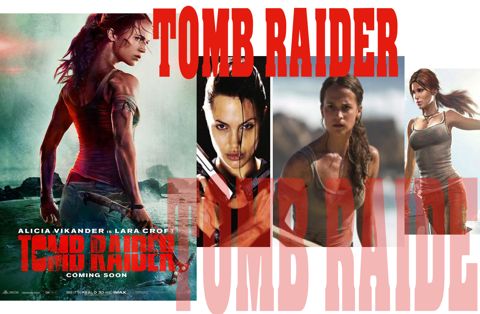 Lara Croft From to cShadow of the Tomb Raiderd And The Movie In