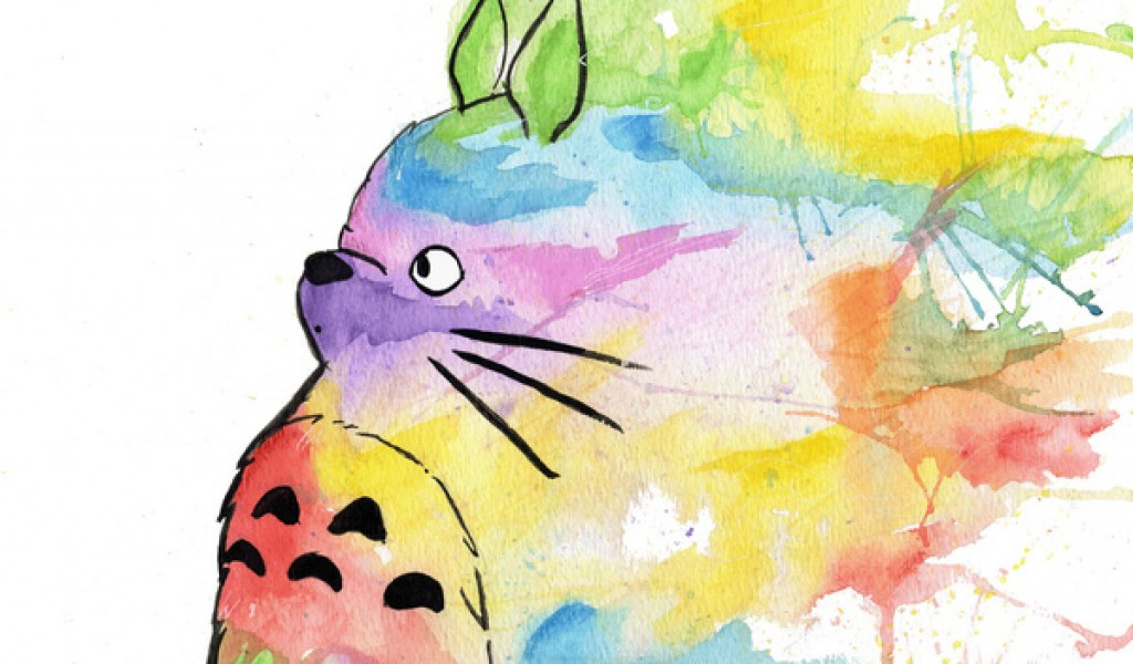 My Neighbor Totoro Wallpaper Page 1024x600