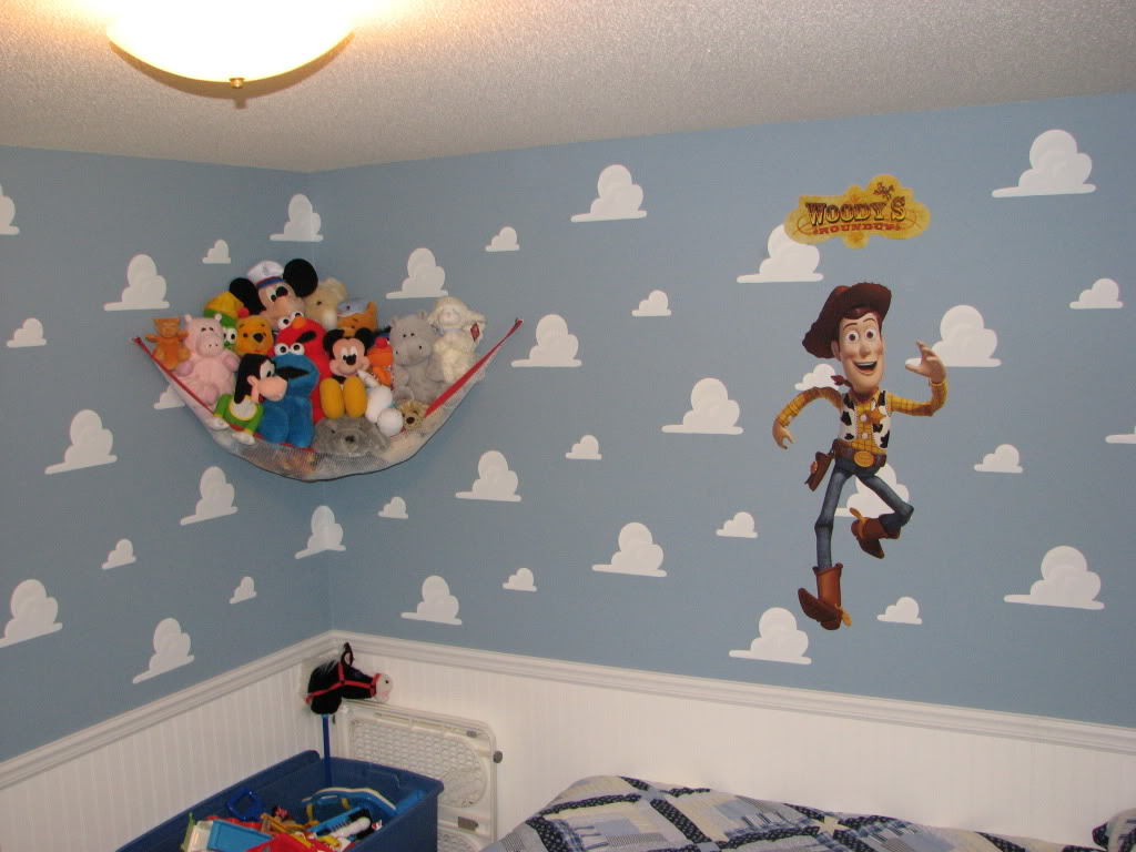Andys Room Clouds Modern Home Interior Ideas