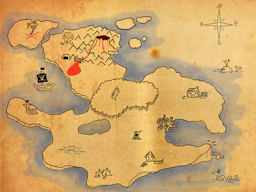 Download Ac Treasure Map wallpapers to your cell phone 1032x774