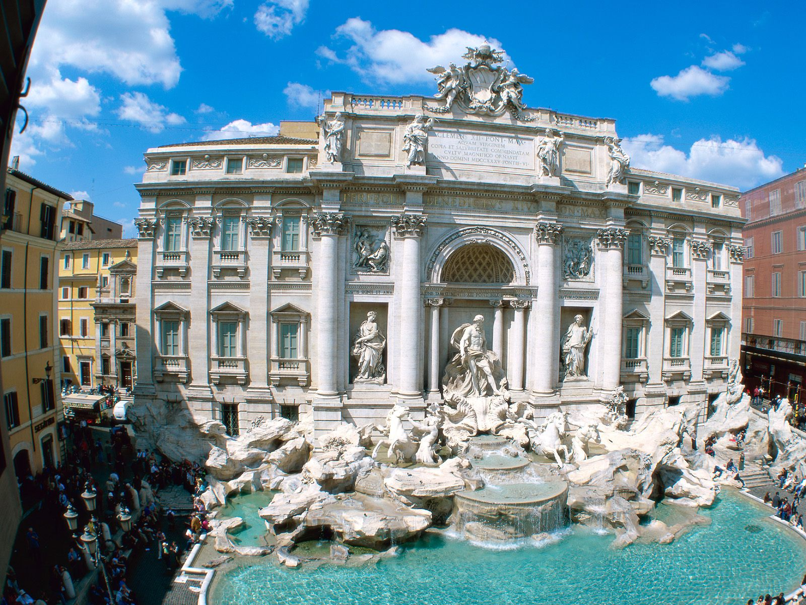 Download Wallpaper  Trevi, Fountain, Rome, Italy iPhone S 1600x1200