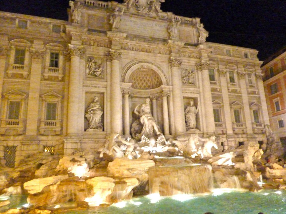 Trevi Fountain, Rome, Italy widescreen wallpaper  WideWallpapers Trevi Fountain HD Wallpapers  Travel HD Wallpapers 1152x864