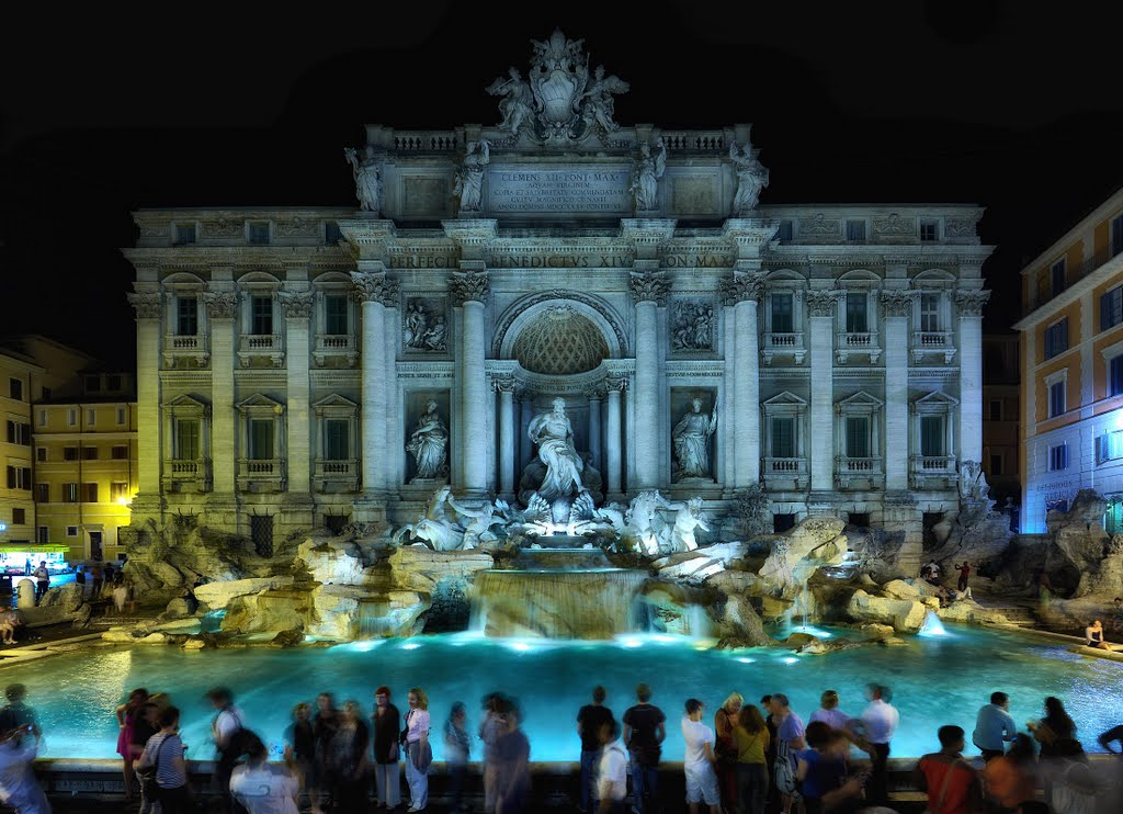 Trevi Fountain Statues Wallpaper  HD Wallpapers 1024x742