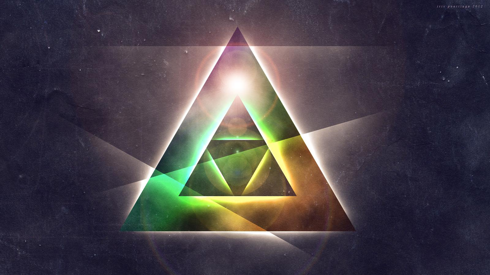 Triangle Galaxy wallpaper for iPhone via Cocopapa  Fonts 1600x900