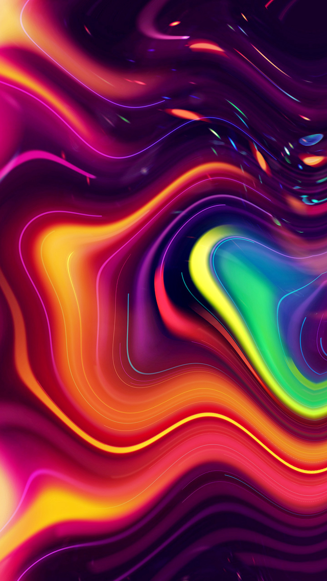 Trippy Iphone Wallpapers HD 640x1136