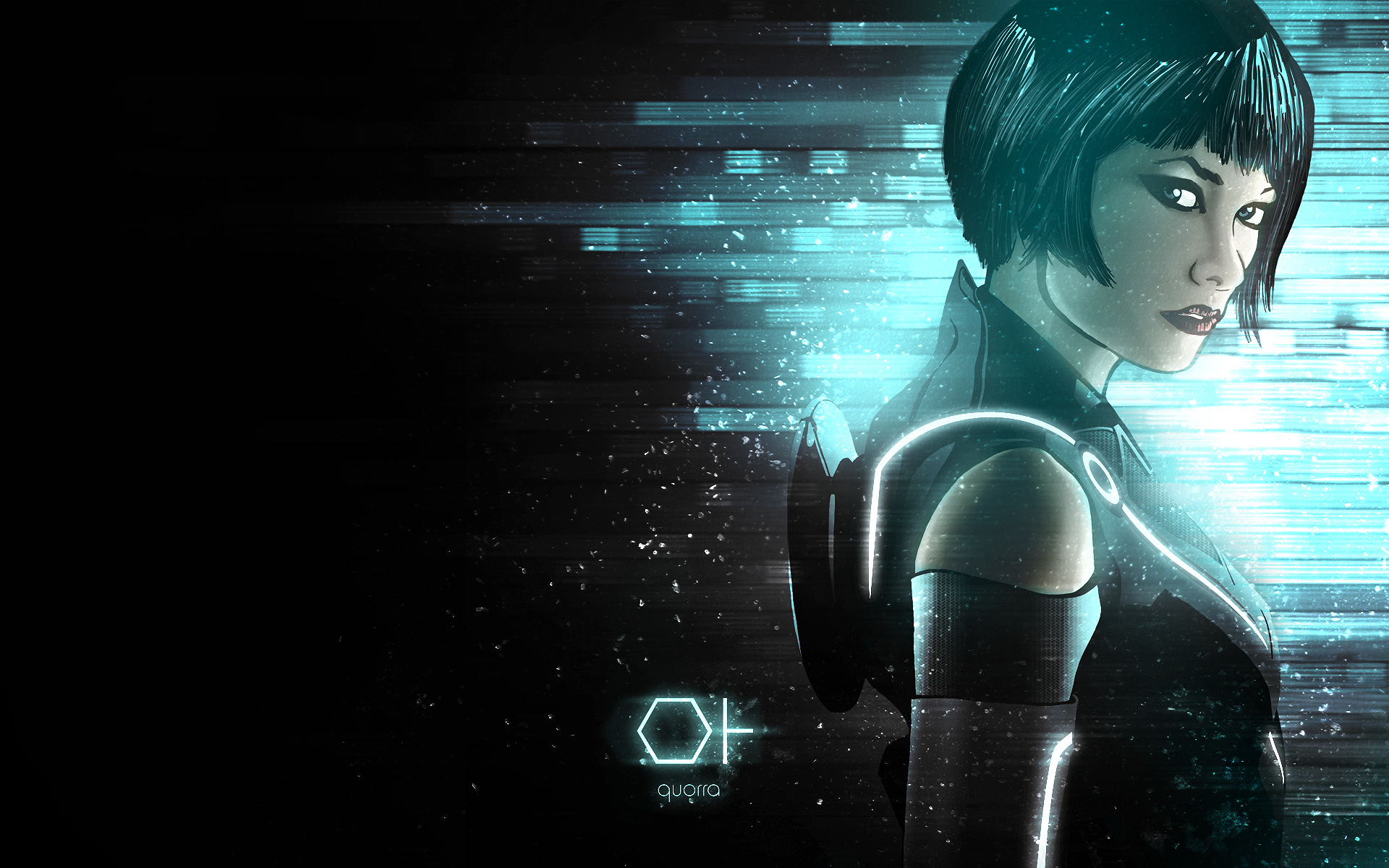 beau garrett in tron legacy hd wallpaper 1920x1200