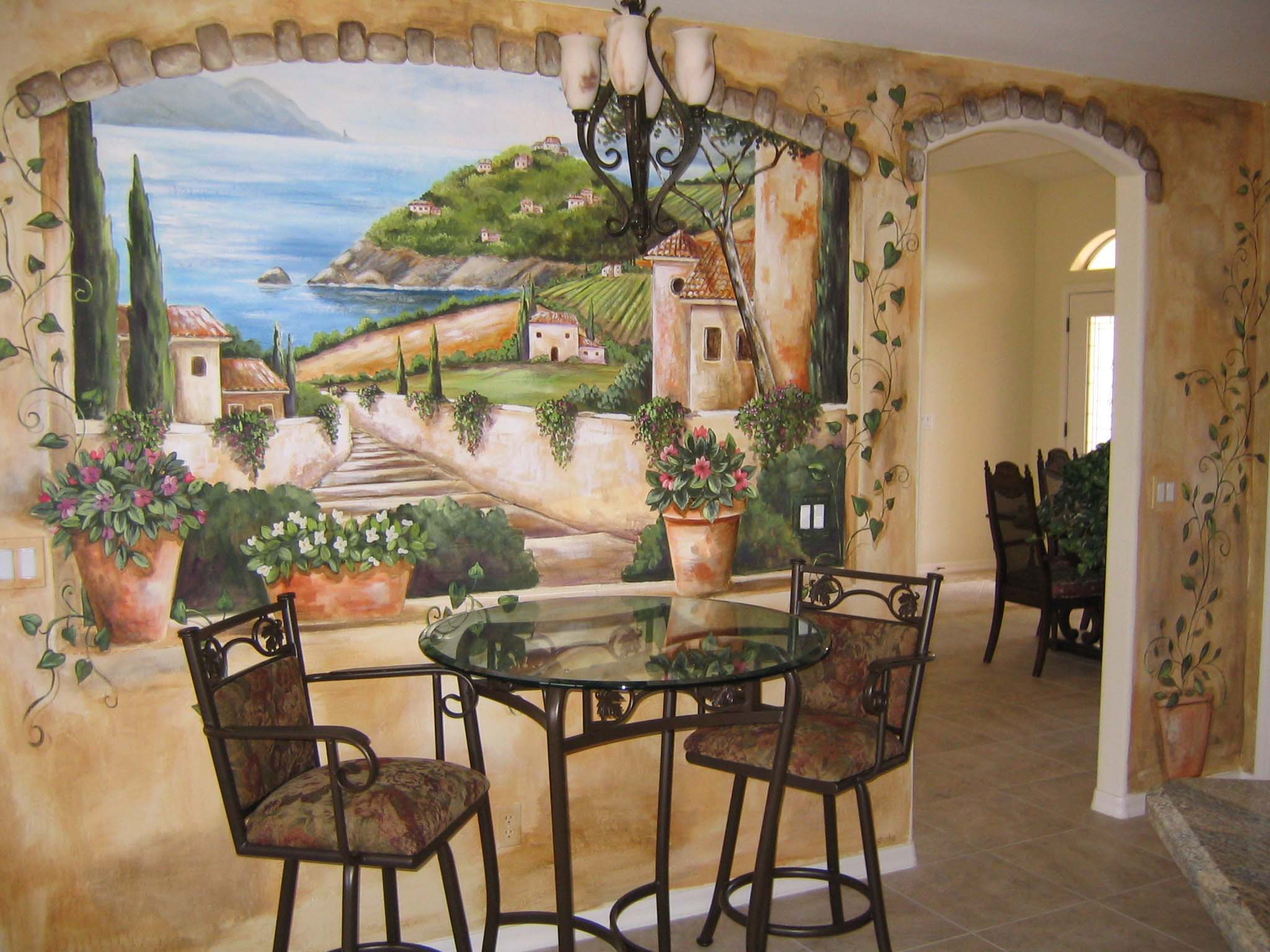 Tuscan Wallpapers Murals 13 Wallpapers Adorable Wallpapers