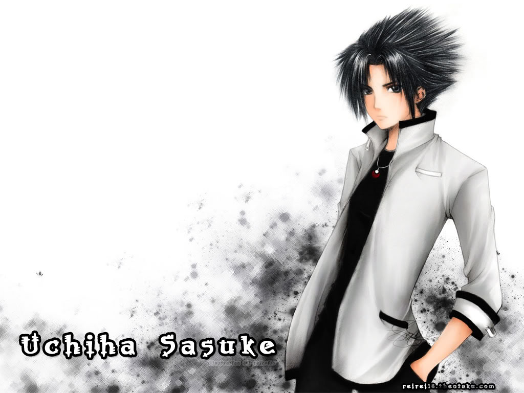 Uchiha Sasuke Naruto HD desktop wallpaper : High Definition 1024x768