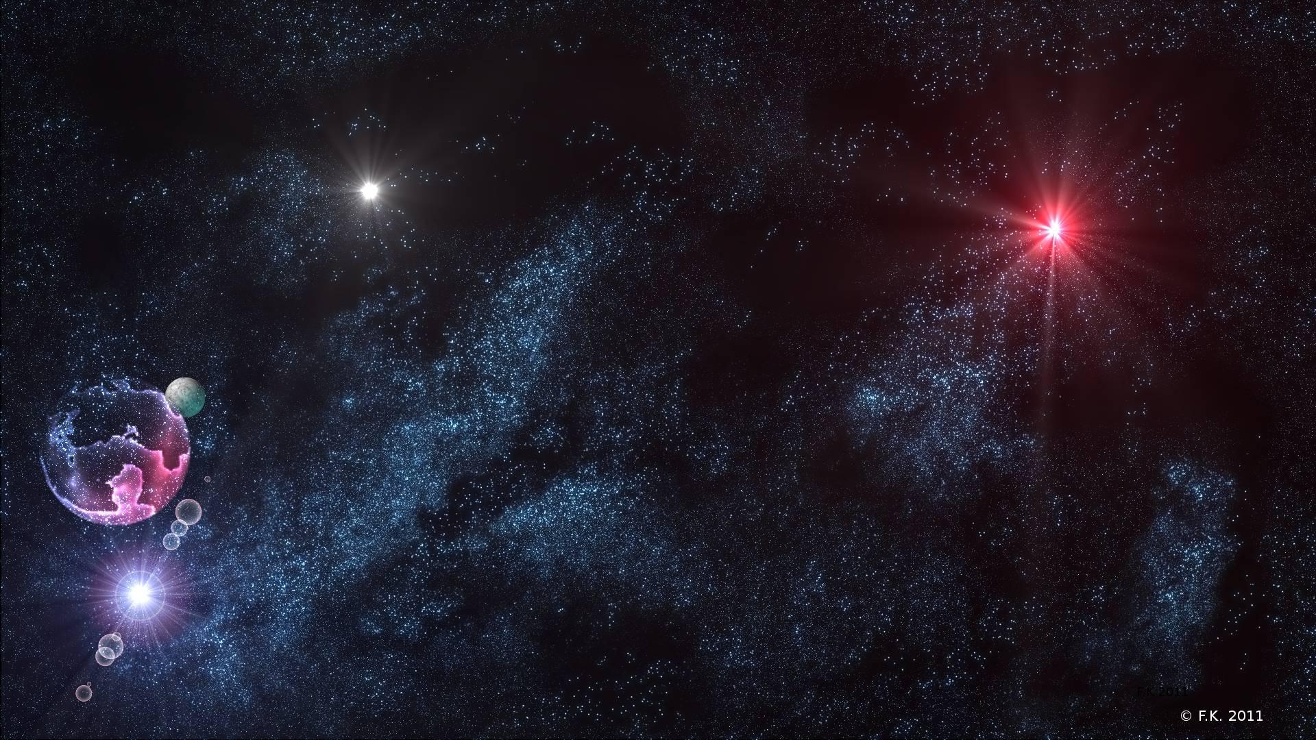 Stars In The Universe HD Desktop Wallpaper Widescreen High 1920x1080