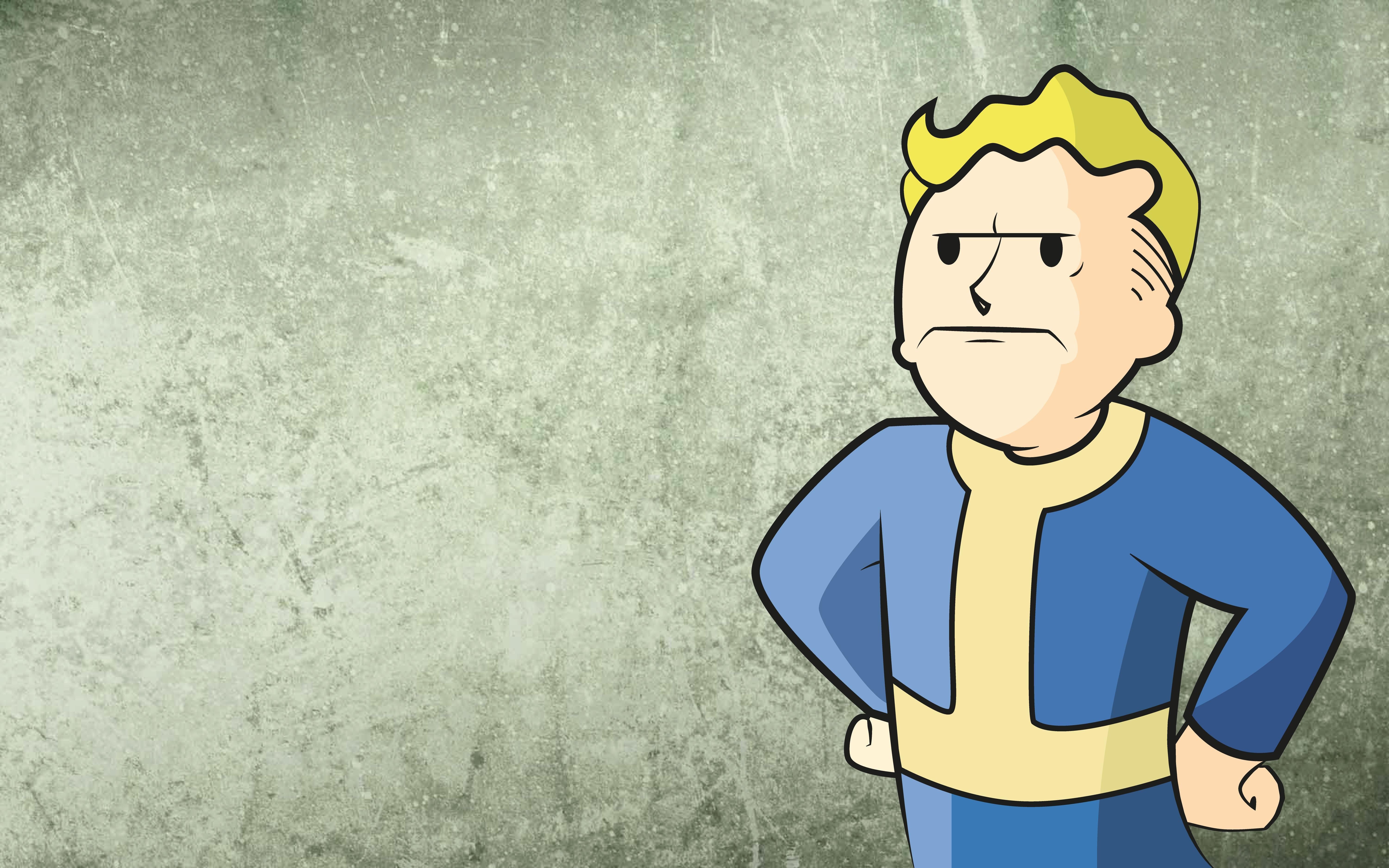 Download the Angry Vault Boy Wallpaper Angry Vault Boy iPhone