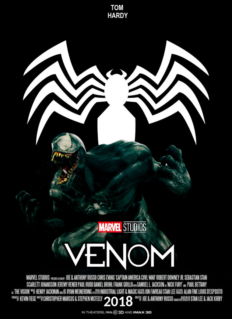 Venom Movie Poster By Jackjack On