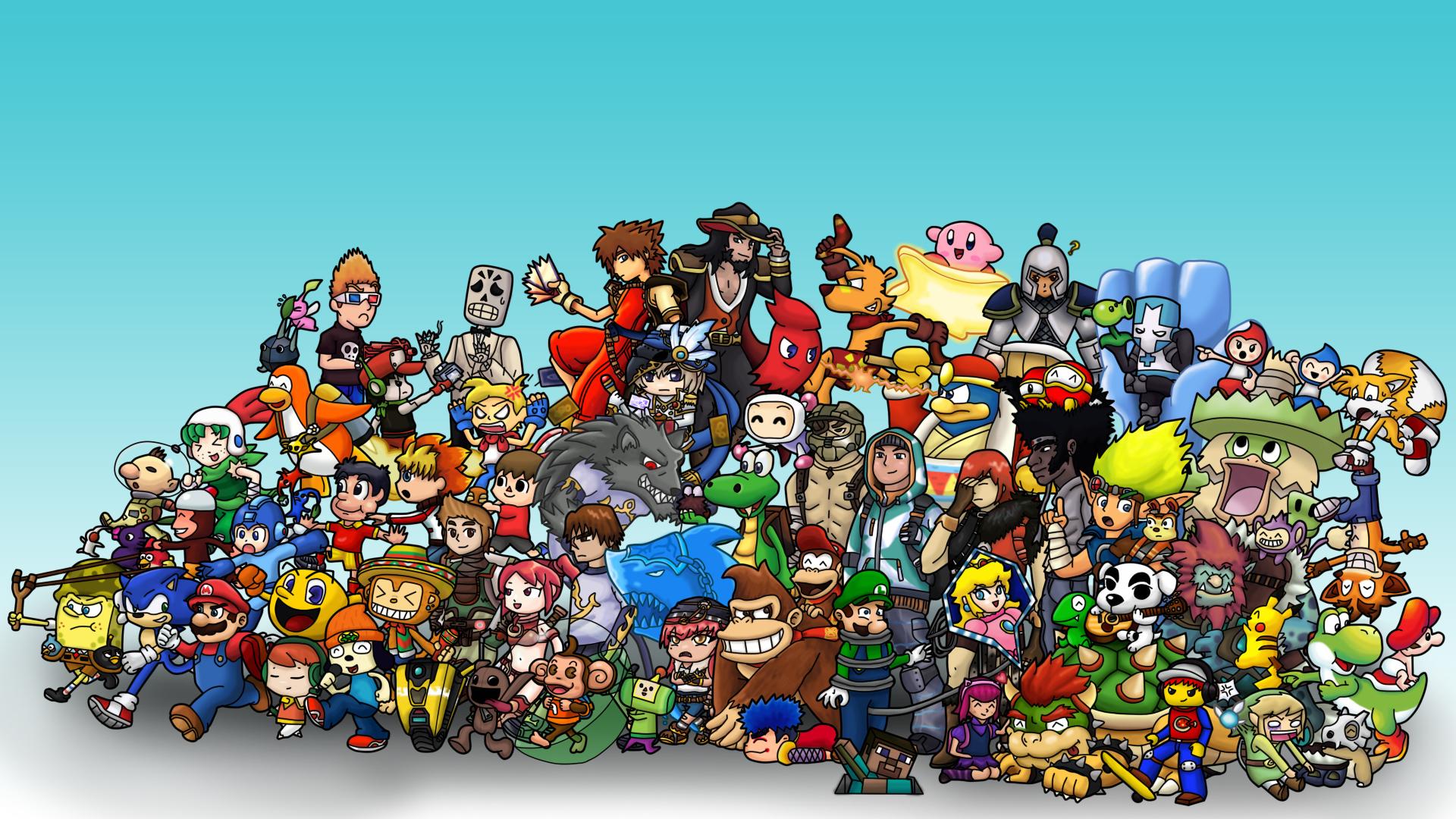 Video Game Wallpaper Dump Retro Gaming Wallpapers Full HD