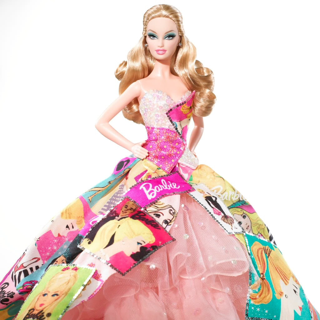 Attractive Barbie Doll Beautiful Hd Wallpaper Download 1024x1024