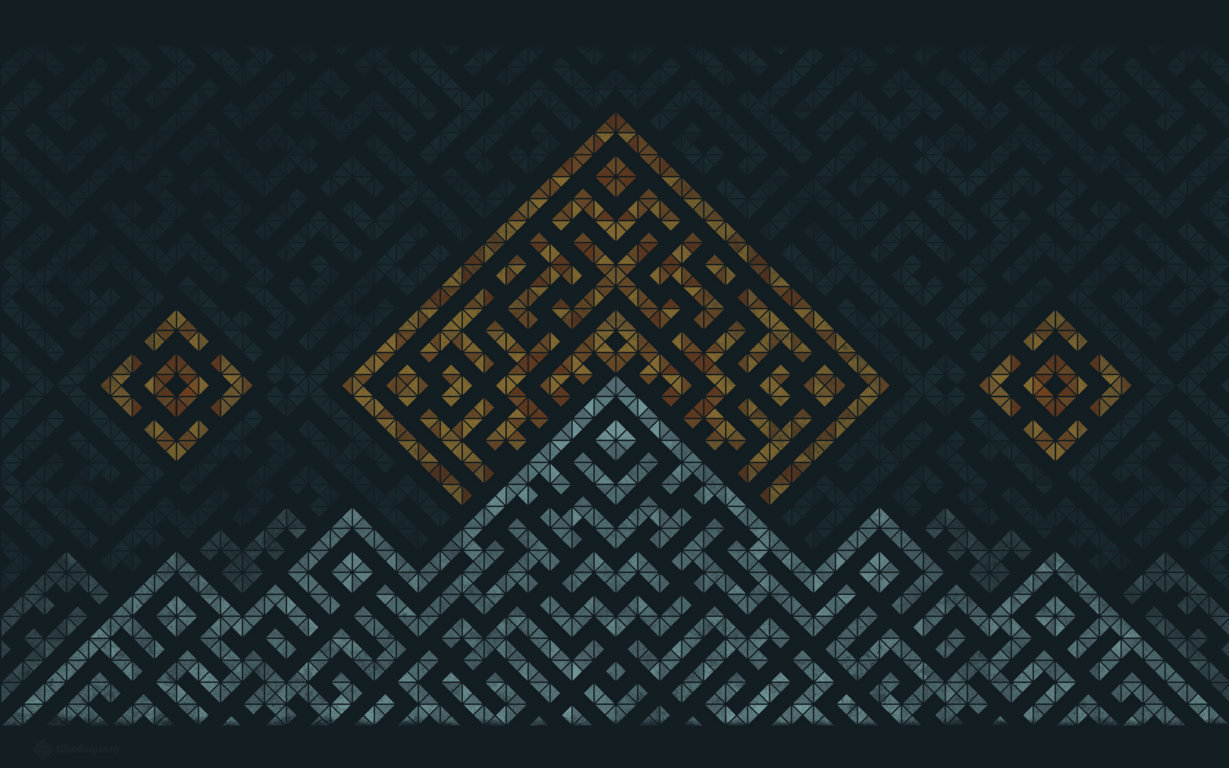HD Geometric Wallpapers 1229x768