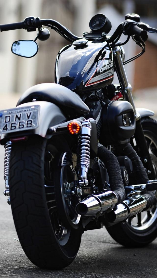 Harley Davidson HD Wallpaper Free Download PixelsTalk Wallpapers Group 640x1136