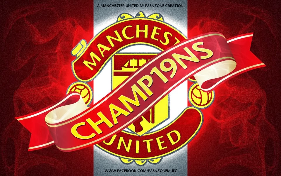 Manchester united logo wallpapers pixelstalk wallpaper mu 960x600 voltagebd Image collections