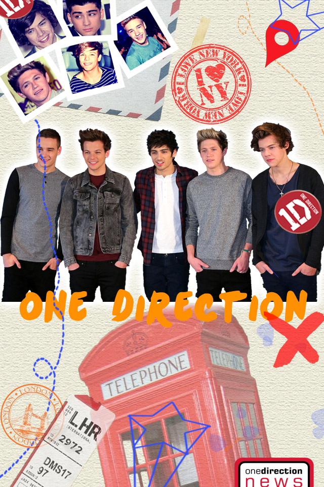 Image of: Fanpop One Direction Backgrounds Wallpaper 640x960